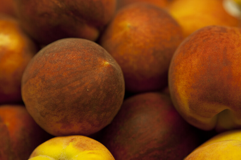 Display of Peaches