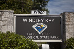 Display Sign at Windley Key Fossil Reef Geological State Park