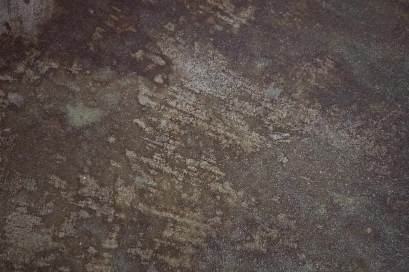 Distressed Concrete Floor