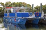 Docked Ferry at Biscayne National Park