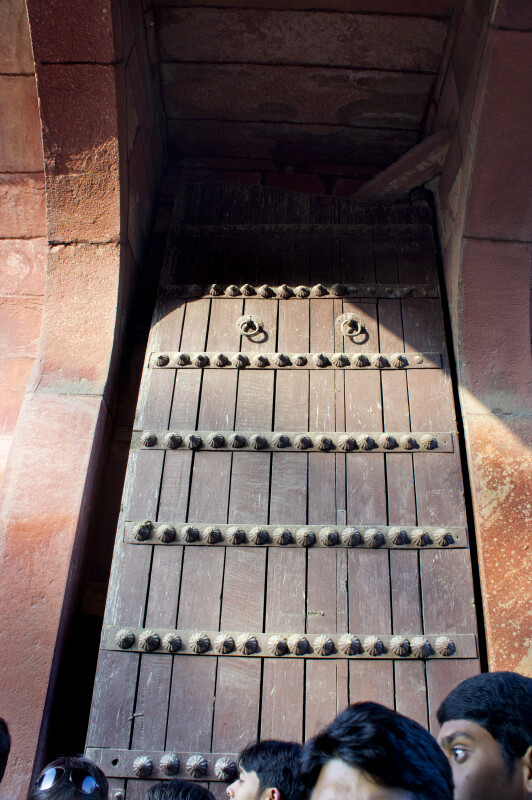 Door on Taj Mahal Grounds