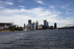 Downtown Pittsburgh and Golden Triangle from the Ohio River