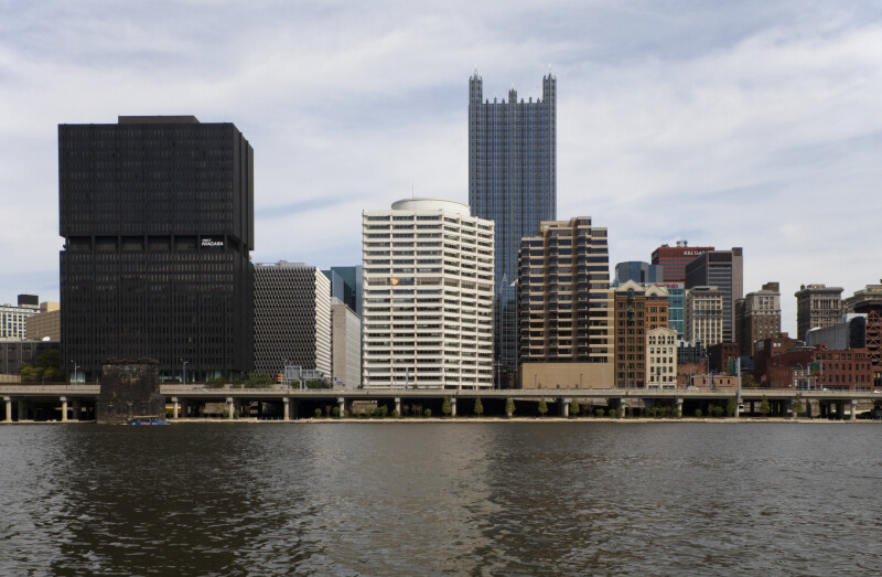 Downtown Pittsburgh from the Monongahela River