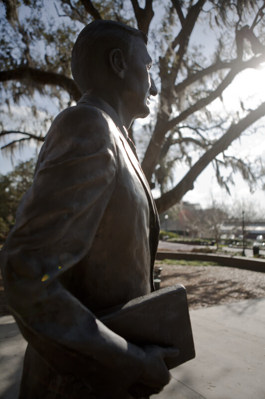 Dr. J. Stanley Marshall Statue