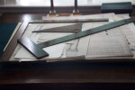Drafting Tools on a Table