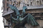 Dragon Sculpture on New Town Hall