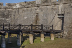 Drawbridge Leading to Sally Port of Castillo de San Marcos