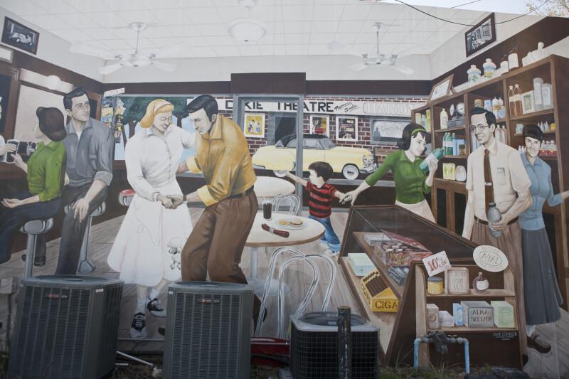 Drugstore Mural