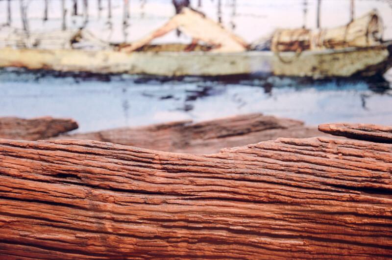 Dugout Canoe Close-Up