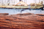 Dugout Canoe Close-Up