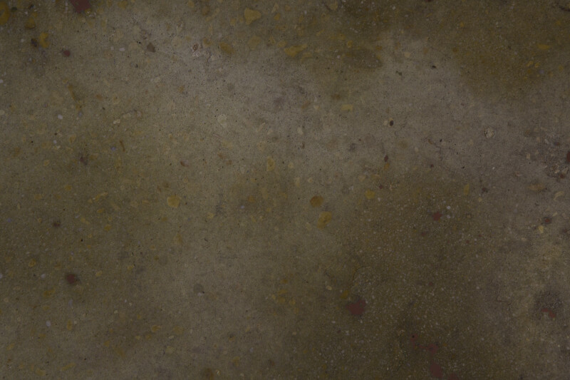 Dull Yellow Concrete Floor