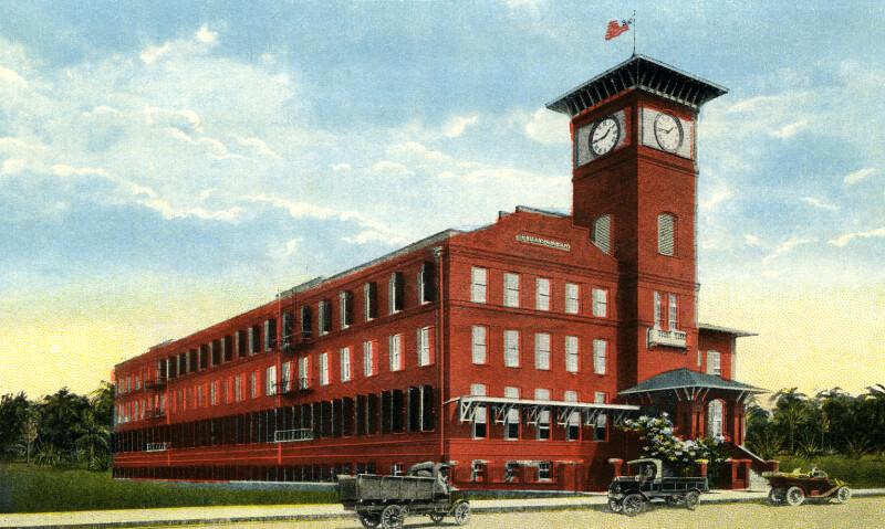 E. Regensburg & Sons' Cigar Factory