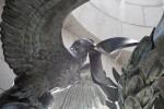 Eagle Holding Wreath