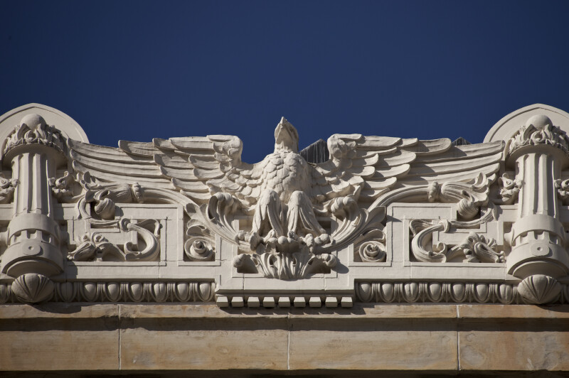 Eagle Relief Border on Soldiers and Sailors' Memorial Hall