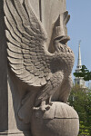 Eagle Statue at Boston Common