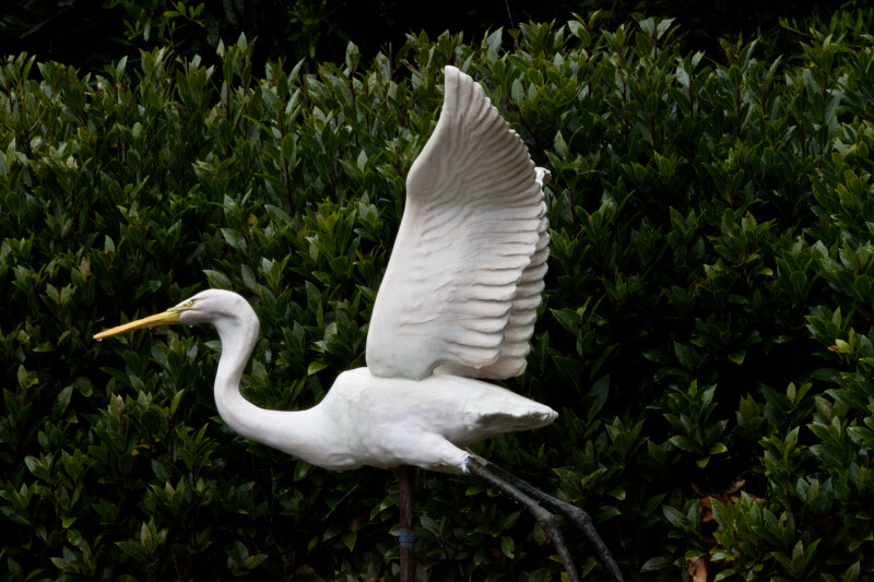 Egret Decoy