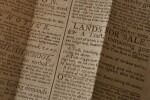 Eighteenth Century Newspaper: Classifieds