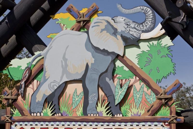 Elephant Cut-Out