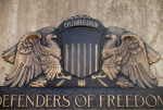 Emblem of Eagles at Soldiers and Sailors' Memorial Hall