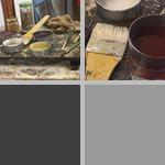 Encaustic Painting photographs
