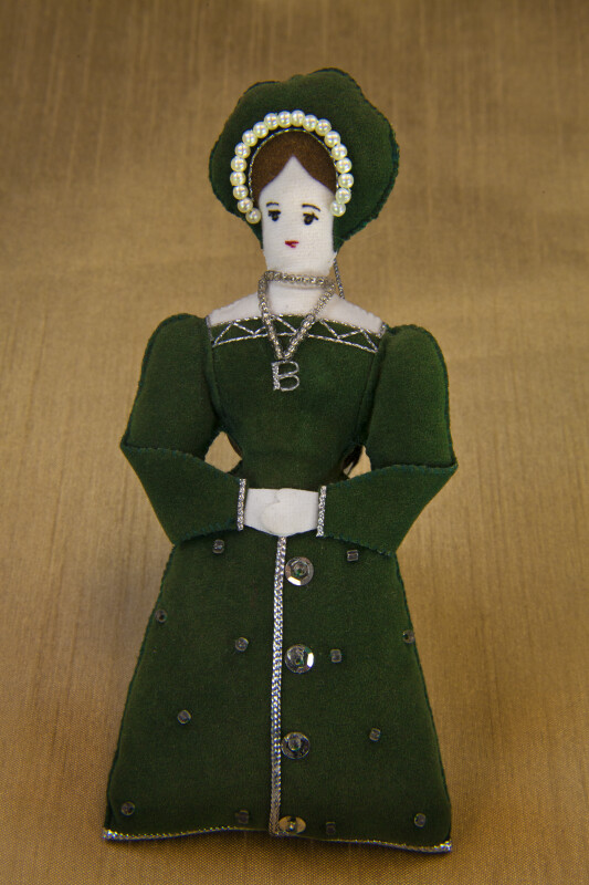 England Handcrafted Anne Boleyn Second Wife of King Henry VIII (Full View)