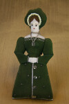 England Handcrafted Anne Boleyn Doll Second Wife of King Henry VIII (Full View)