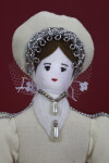 England Handcrafted Doll of Katherine Howard Fifth Wife of King Henry VIII (Close Up)