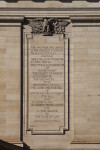 Engraving of Lincoln Quote at the Soliders and Sailors' Memorial Hall