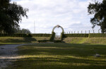 Entrance of Fort Caroline Reconstruction from a Distance