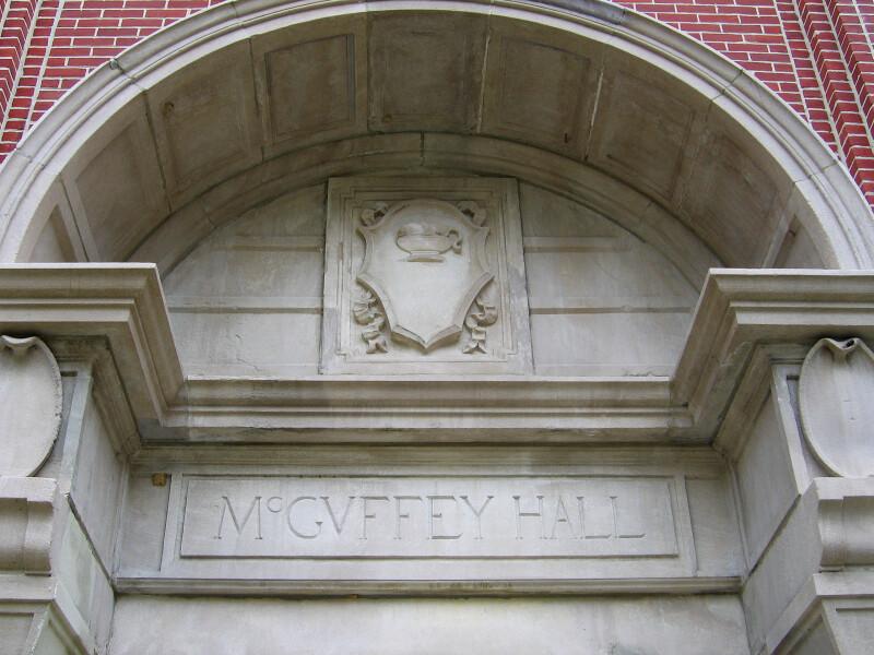 Entrance to McGuffey Hall at Miami University