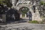 Entrance to the Convento Courtyard at the Alamo Mission