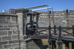 Entrance to the Ravelin at Castillo de San Marcos