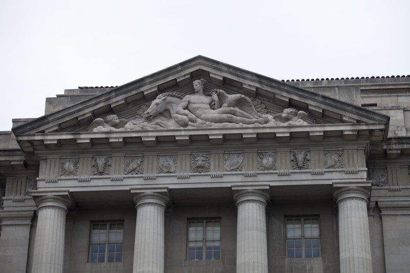 EPA West Pediment