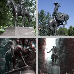 Equestrian Statue photographs