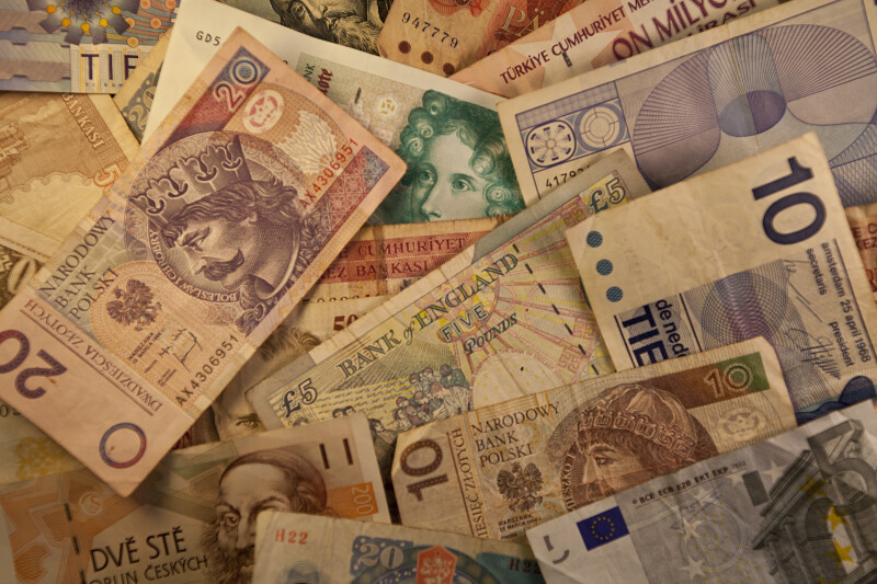 European Banknote Montage