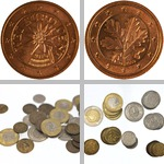 European Coins photographs