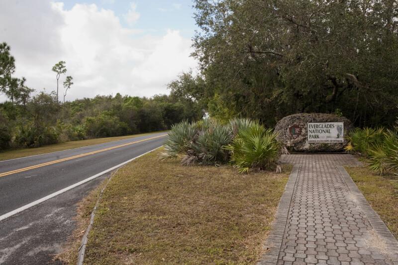 Everglades National Park Entrance