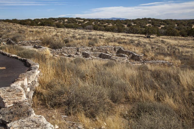 Excavated Pueblo Rooms