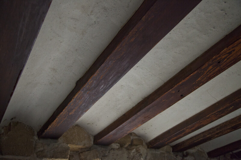 Exposed Beams in the Ceiling