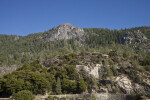 Exposed Granite at Hetch Hetchy