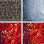 Fabrics photographs