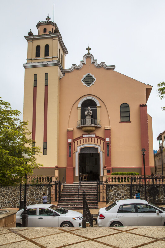 Façade of San Antonio de Padua Church, Barranquitas, PR