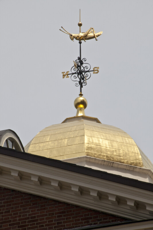 Faneuil Hall Grasshopper Weather Vane