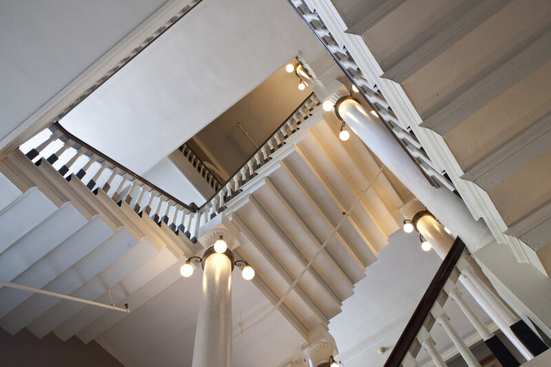 Feneuil Hall Stairs