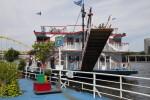 Ferry at Gate 3 on Monongahena River