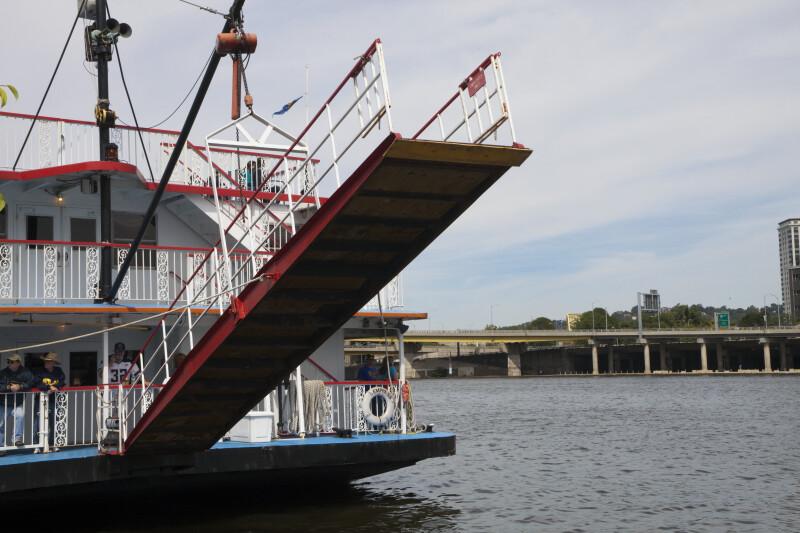 Ferry on Monongahela River