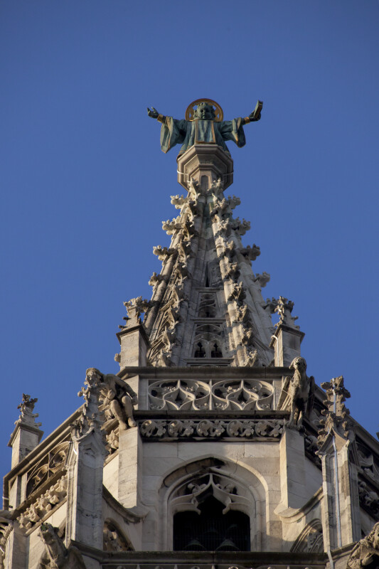 Figure on Main Spire of New Town Hall