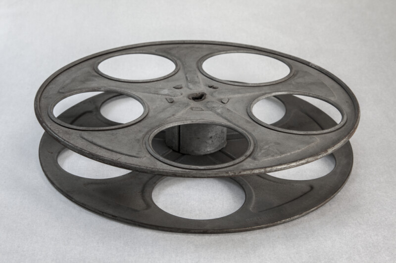 Film Reel Laying flat