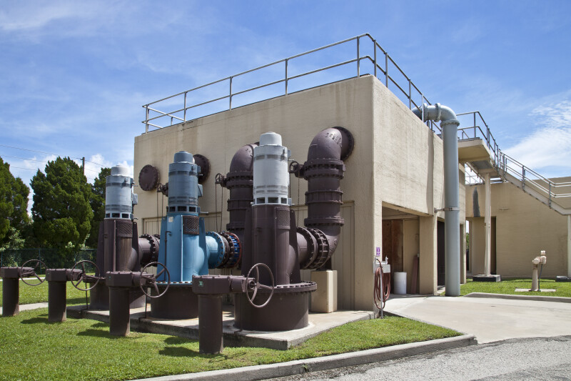 Filter Pumps at Water Reclamation Facility