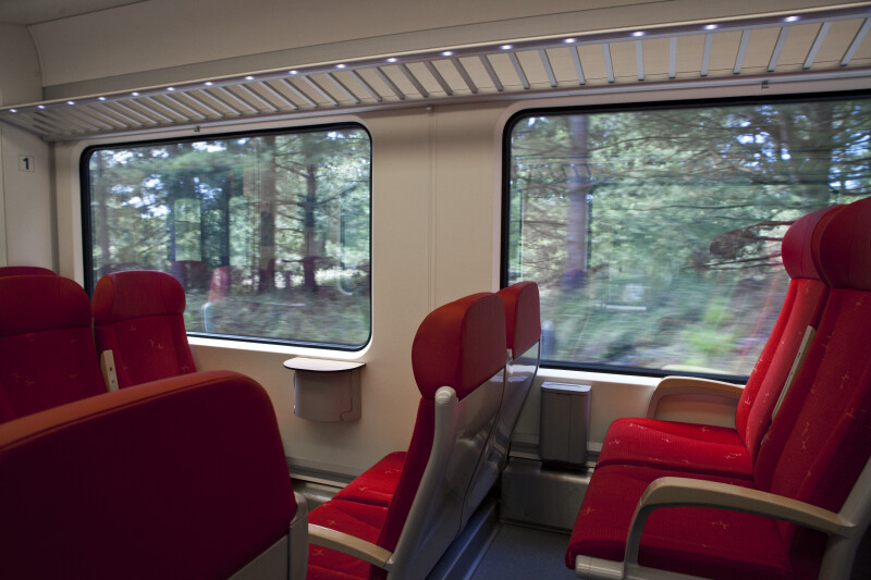 First Class Car Interior